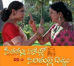 Seethamma Vakitlo Sirimalle Chettu Daily Serial – E773 – 24th Feb