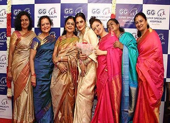 Gemini Ganesan S Daughter Kamala Selvaraj Unhappy With: Pic Talk: Gemini Ganesan's Daughters