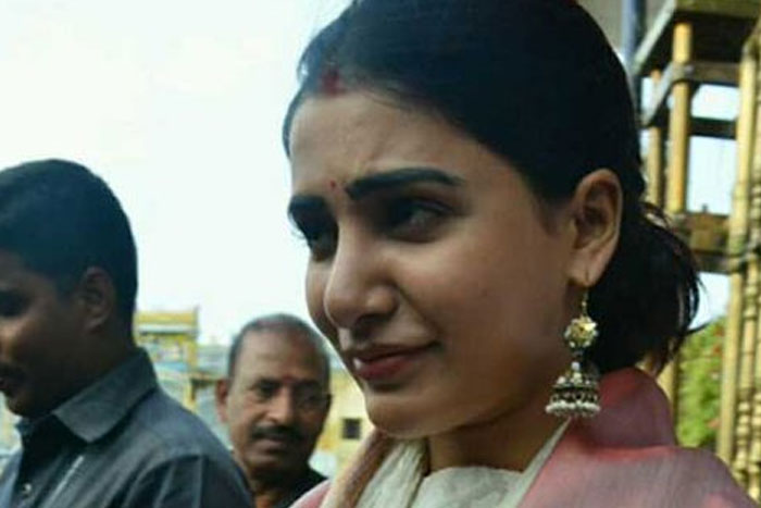 Samantha Throws A Fitness Challenge In Tirupati