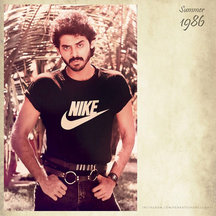 Pic Talk: Venkatesh Joins Instagram With A Classic Pic