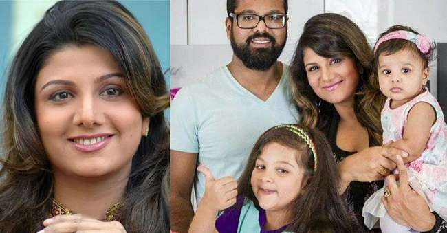 Pic: Rambha became a mother for the third time