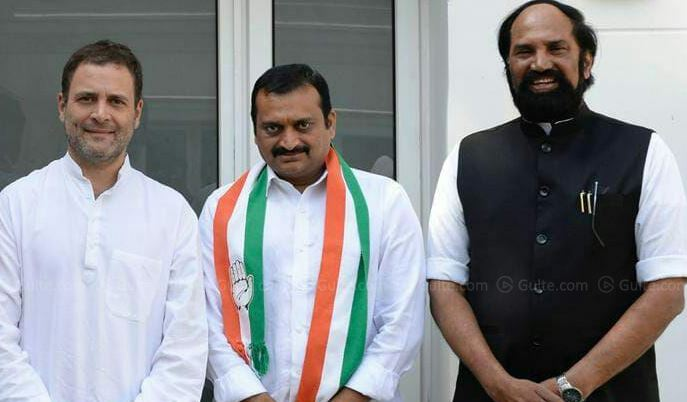 Bandla Ganesh upset with Congress?